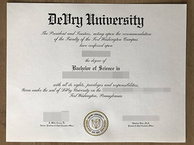 Looking For The Latest Version of DeVry University Fake Diploma
