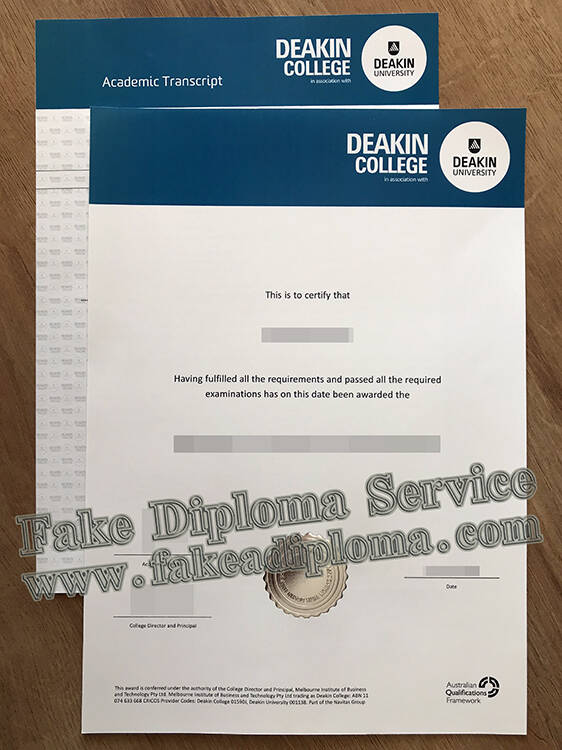 Deakin University Fake Diploma