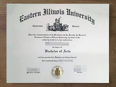 How to Buy Eastern Illinois University Fake Degree Online, Get Fake EIU Diploma?