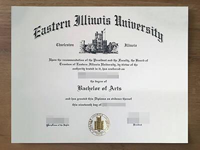How to Buy Eastern Illinois University Fake Degree Online, Get Fake EIU Diploma?