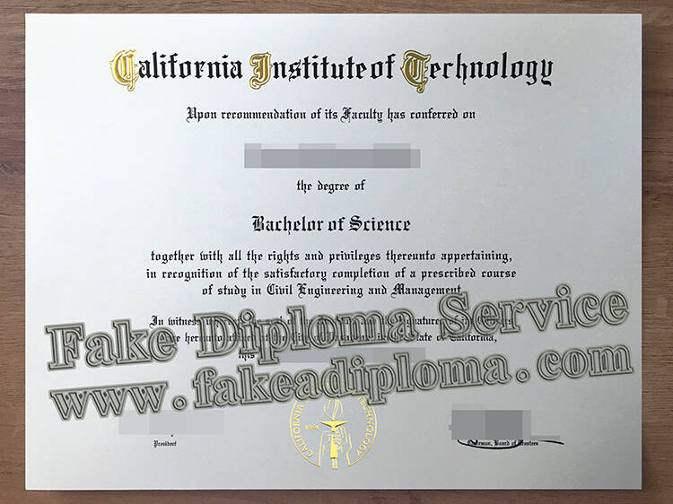 Who Can Provide A Fake California Institute of Technology Diploma?
