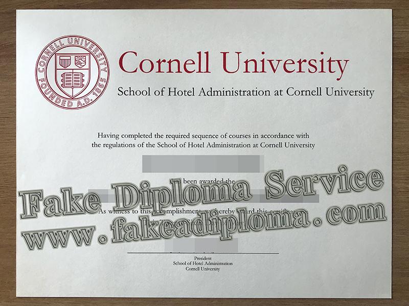 Fake Cornell University Diploma
