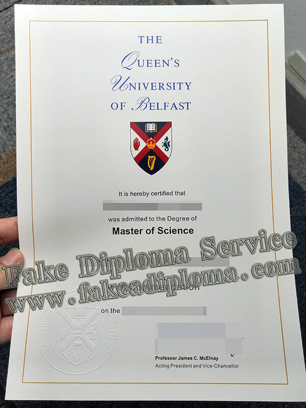 Copy A Fake Queen's University Belfast Degree, Printing Fake Queen's University Belfast Transcript