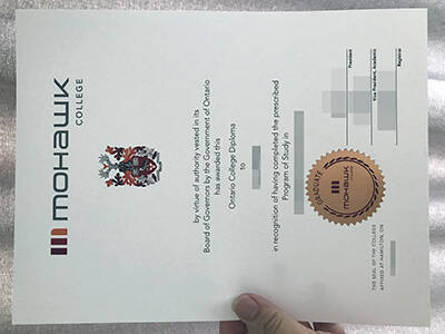 How To Copy A Fake Mohawk College Certificate?