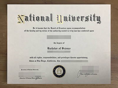How Much For A Fake National University Degree?
