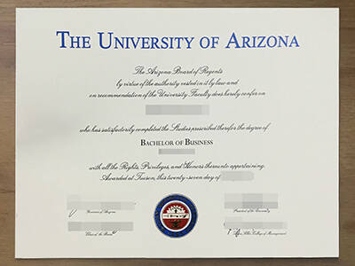 How much For A Fake University of Arizona Diploma? Copy University of Arizona Fake Degree