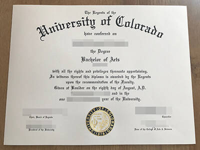 Find The Best Website to Buy A Fake University of Colorado Diploma
