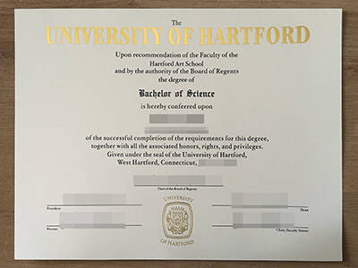 How Copy A Fake University of Hartford Degree Online?