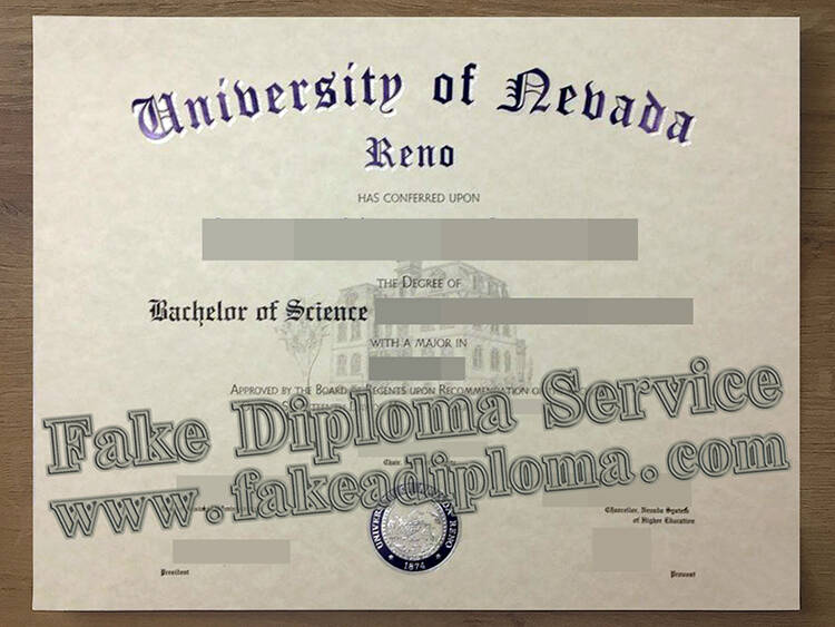 How Much For A Fake University of Nevada Diploma?