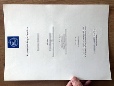 Where to Obtain the KTH Royal Institute of Technology Fake Diploma Certificate?