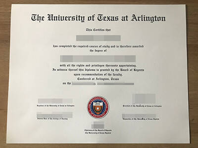 Printing The University of Texas at Arlington Fake Degree Online, Copy Fake UTA Diploma