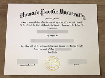 Where To Buy A Fake Hawaii Pacific University Diploma?