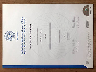 Where To Replicate A Fake QQI Award Certificate?