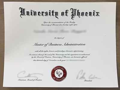 Copy University of Phoenix Fake Degree Online, Buy Fake UPX Diploma Certificate
