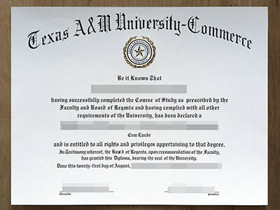 Buy Fake Texas A&M University-Commerce Diploma(Good Quality)