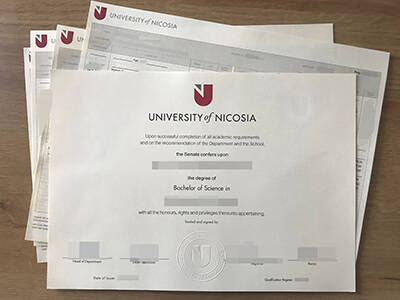 Buy the Fake University of Nicosia Diploma, Copy Fake University of Nicosia Transcript