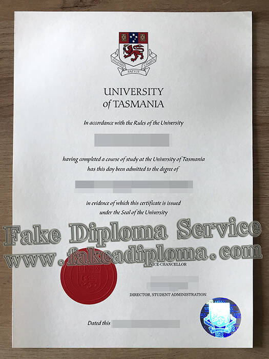 University of Tasmania fake diploma