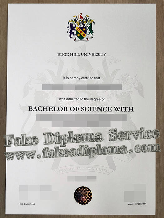 Edge Hill University Fake Degree