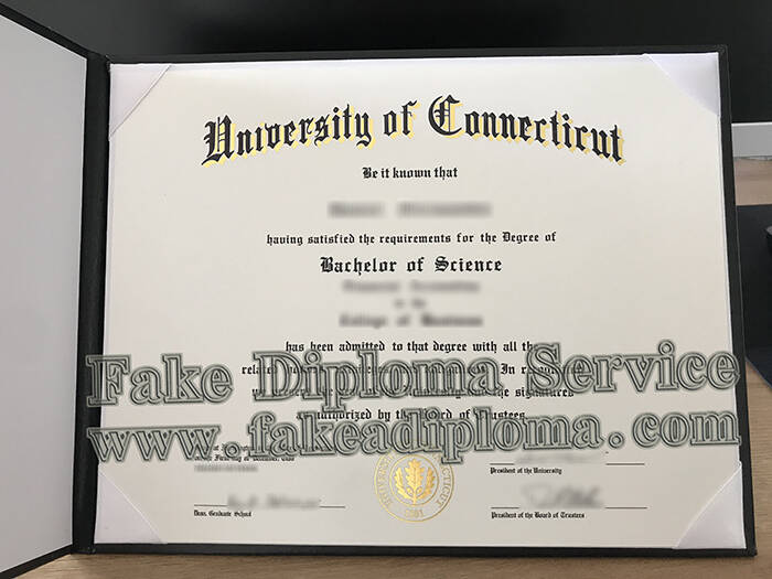 Quickly Apply For Fake University of Connecticut Diploma Online