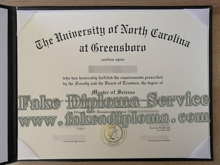 Fake UNCG Diploma
