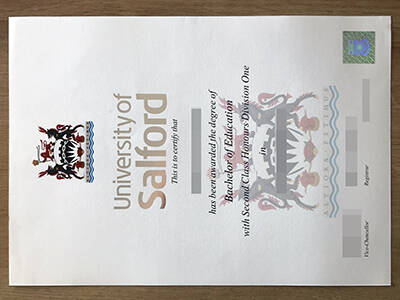 Copy The University of Salford Fake Diplomas Online