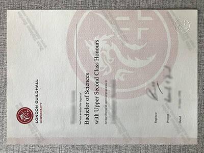 Buy London Guildhall University Fake Diploma Online