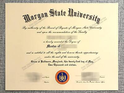 Buy Morgan State University Fake Diploma Online
