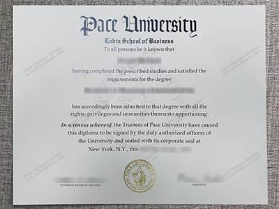 Pace University Fake Diploma, Buy Fake Degree