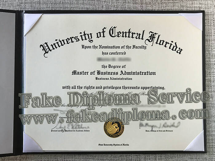 University of Central Florida Diploma