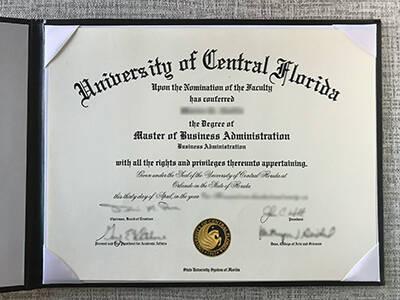 Buy Fake University of Central Florida Diploma Online