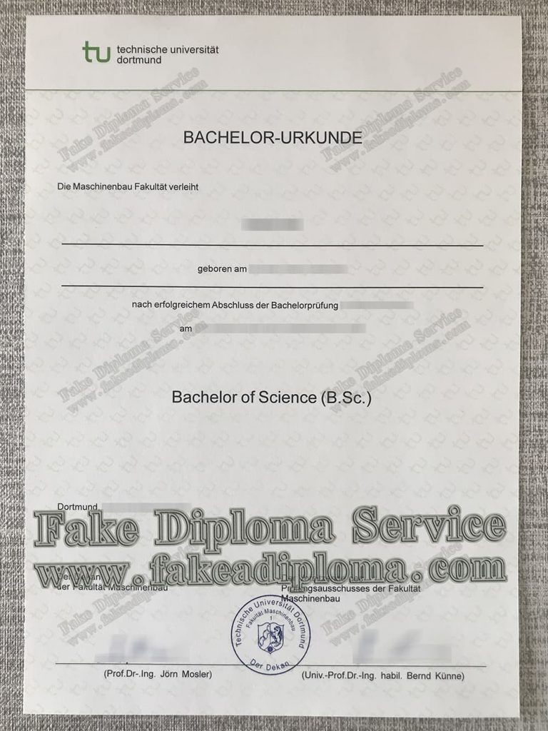 Dortmund-university-of-technology-fake-diploma