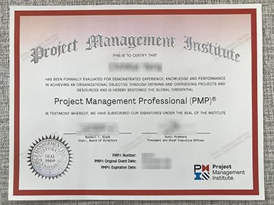 Buy PMP Certificate, Fake Project Management Professional Certificate