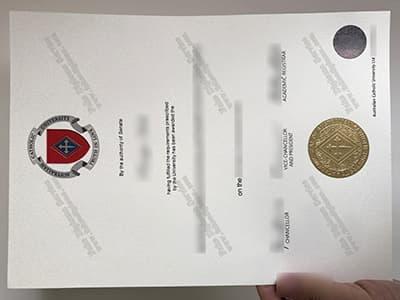 Copy A Fake ACU Diploma Online, Australian Catholic University Diploma
