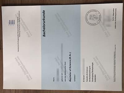 HAW Diploma, Hochschule für Angewandte Wissenschaften Hamburg Diploma
