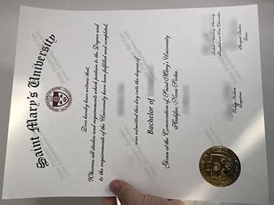 Buy A Saint Mary's University Diploma, Get SMU Degree