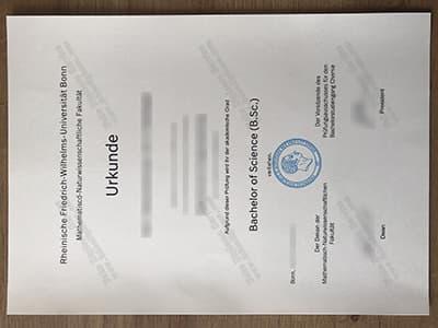 Get a University of Bonn Diploma Online