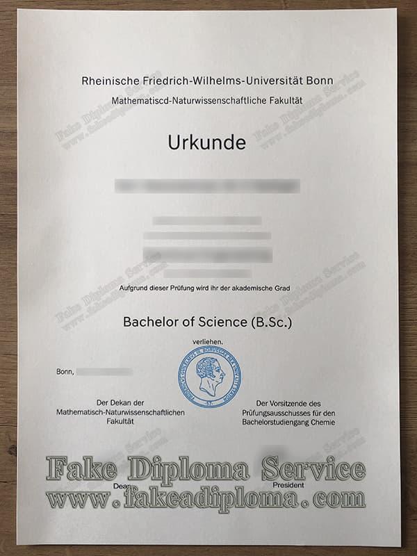 University of Bonn diploma