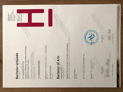 Fachhochschule Hannover Diploma, Same as the Original one