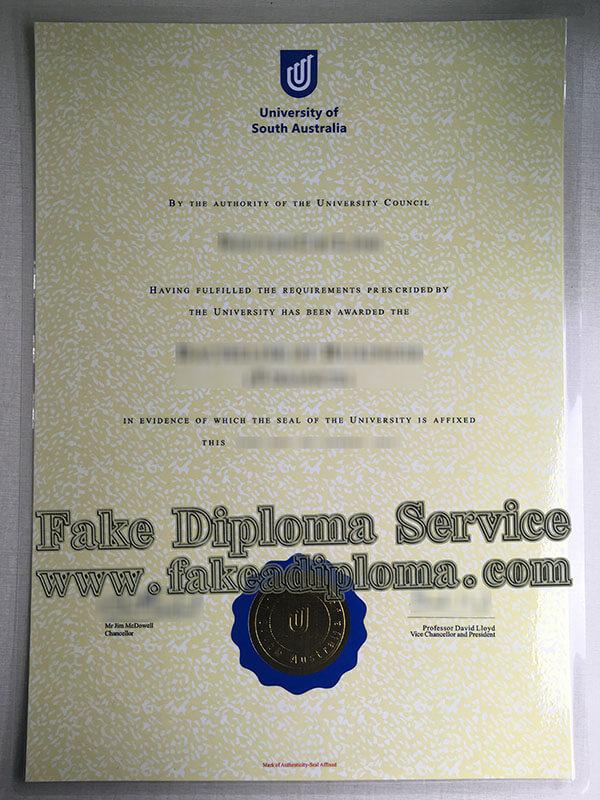 fake University of South Australia Diploma, fake University of South Australia degree