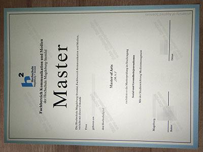Get Hochschule Magdeburg Stendal Diploma Online