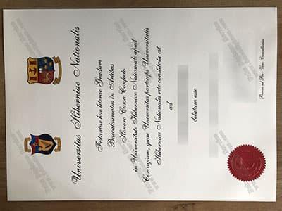 NUI Diploma, Fake National University of Ireland Diploma