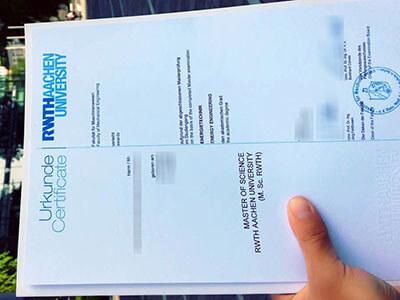 Customize A RWTH Aachen University Diploma Online