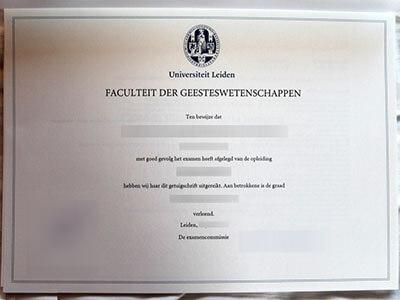 Universiteit Leiden Diploma, Buy Fake Leiden University Diploma