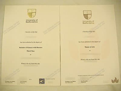 Get a University of Bedfordshire Degree Certificate Online
