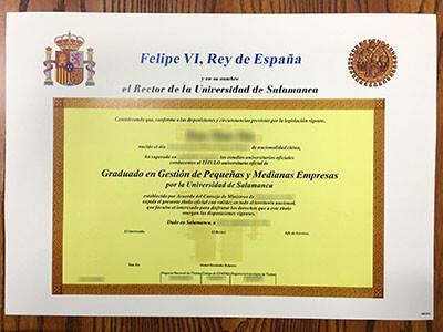 USAL Diploma, Get University of Salamanca Diplomas Online