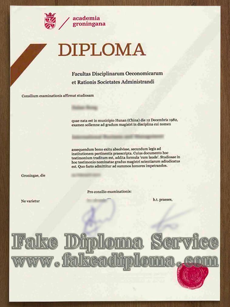 fake University of Groningen diploma, fake University of Groningen degree certificate, fake University of Groningen transcript
