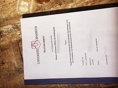Universität Osnabrück Diplom, Buy Fake Osnabrück University Diploma