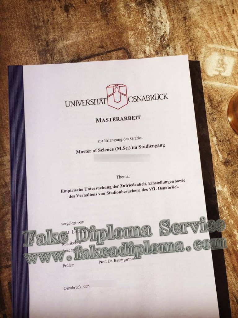 fake universität osnabrück diplom, fake osnabrück university diploma