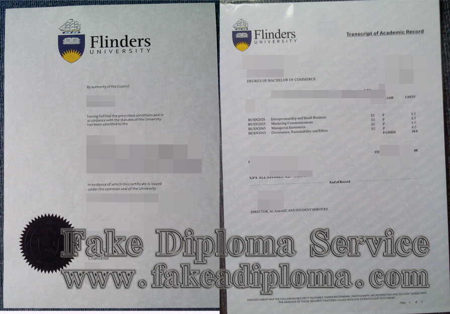 Fake Flinders University Diploma, buy fake Flinders University transcript, buy fake Flinders University degree