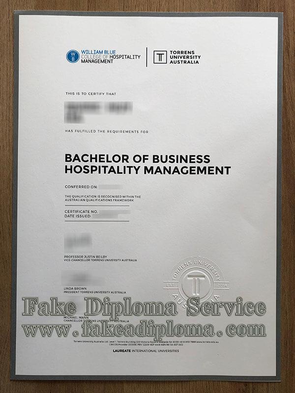 fake Australia Torrens University diploma, fake Australia Torrens University degree